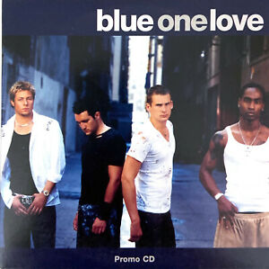 Blue-CD-Single-One-Love-Promo-Europe-EX-EX