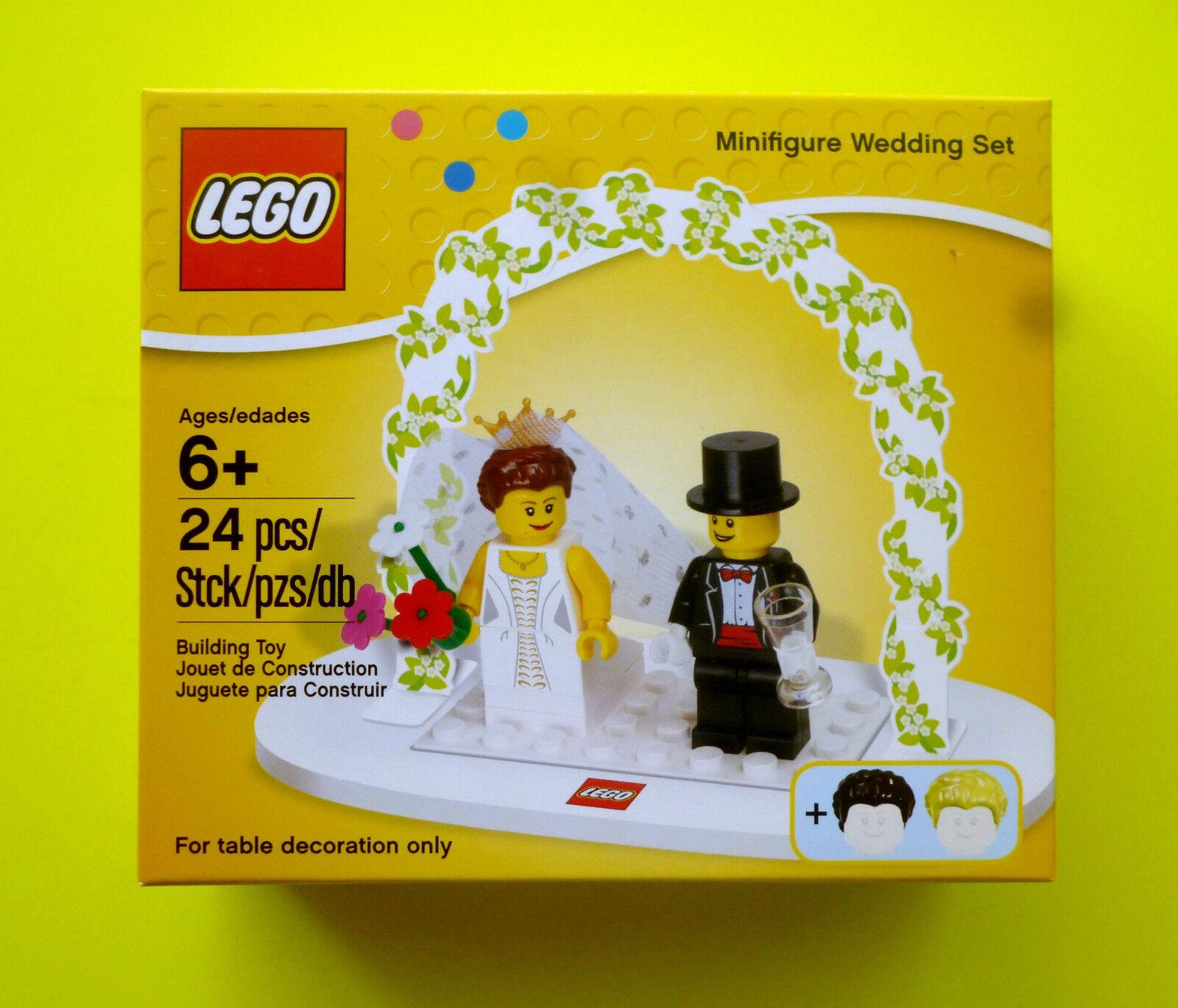 Lego exclusivement 853340 couple heureux mariés mariage wedding Set Nouveau neuf dans sa boîte
