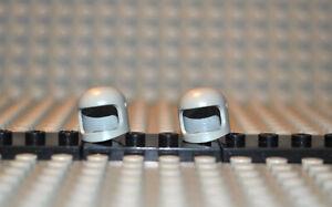Lego-EIN-Helm-193a2-light-gray-alt-hellgrau-MINT-Condition