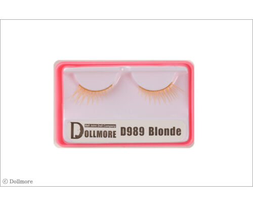 Dollmore Eyelashes Doll eyelashes Blonde D989