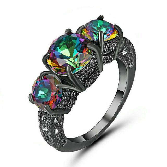 rainbow dragon fanduco products jewelry rings celtic silver engagement