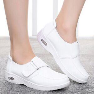 Hospital Womens Leather Nursing Shoes