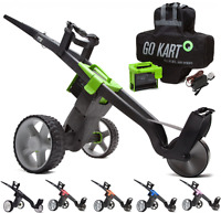 new 2017 Go Kart Electric Golf Trolley +battery & Charger +free Accessory Pack
