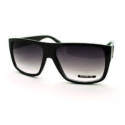 047542f69260 Retro Mens Rectangular Flat Top Italian Mob Gangster Sunglasses New | eBay