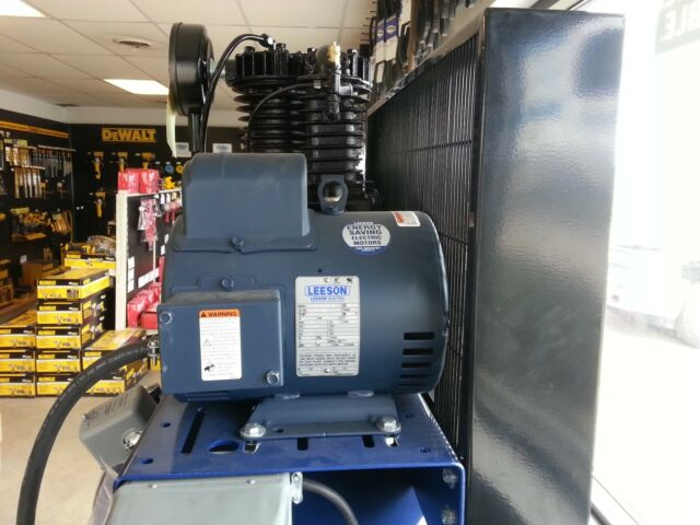 New Leeson Electric Motor 7.5hp 1ph 230Volt 184T 3450 rpm 1 1//8 shaft Compressor motor by Leeson 132044
