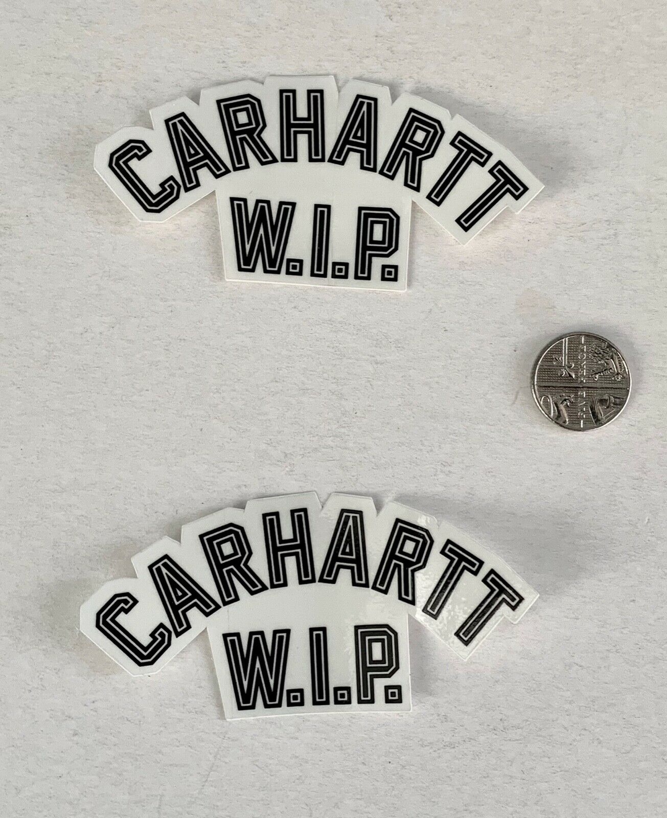 CARHARTT WIP STICKER SET X 2, Black