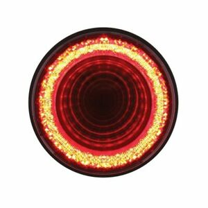 Details About 24 Led 4 Round S T P C Mirage Light Red Clear Lens
