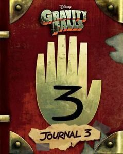 Gravity-Falls-Journal-3-by-Rob-Renzetti-English-Hardcover-Book-Free-Shipping