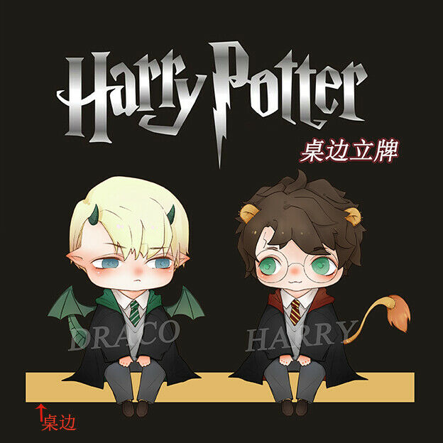 Harry Draco Malfoy Acrylic Decal Desk Stand Display Be