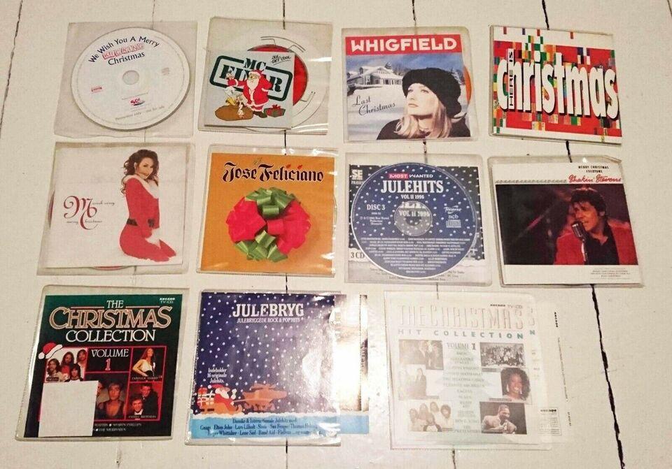 Julemusik (21 stk. CD) julefrokosten og juledagene: -,