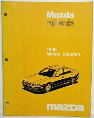 1996 Mazda Millenia Electrical Wiring Diagram   eBay