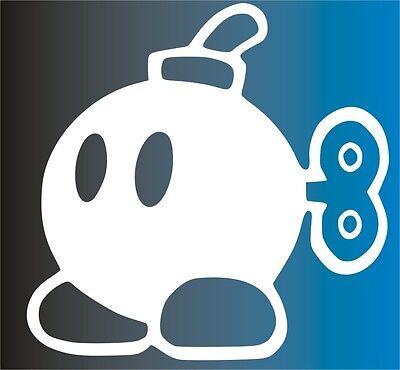 STICKER - Mario Bomb - Laptop decal - Vinyl - Vinilo - Pegatina - Tablet -Iphone