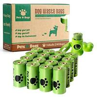 Poop Bags, Earth Friendly Pets N Bags Dog Waste Bags, Refill Rolls (16 Roll