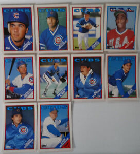1988-Topps-Traded-Chicago-Cubs-Team-Set-of-10-Baseball-Cards