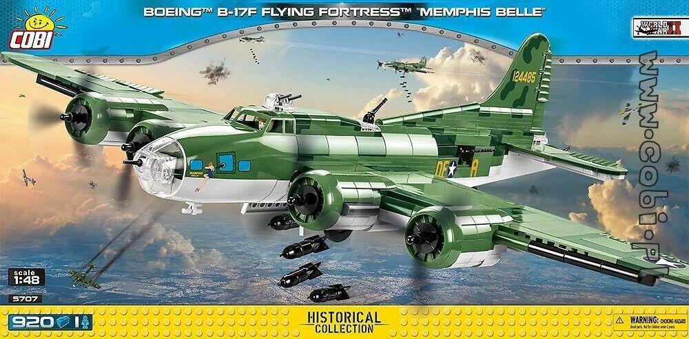 COBI Boeing  B-17F Fliegening Fortress Memphis Belle   5707   920  WWII US bomber