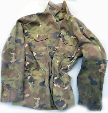 MILITARY ARVN S.VIETNAMESE M-55 FIELD COAT JACKET NATIONAL POLICE CAMO PATTERN