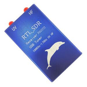 100KHz-1-7GHz-RTL-SDR-RTL2832U-R820T2-U-VHF-USB-Tuner-Receiver-A-FM-Ham-Radio