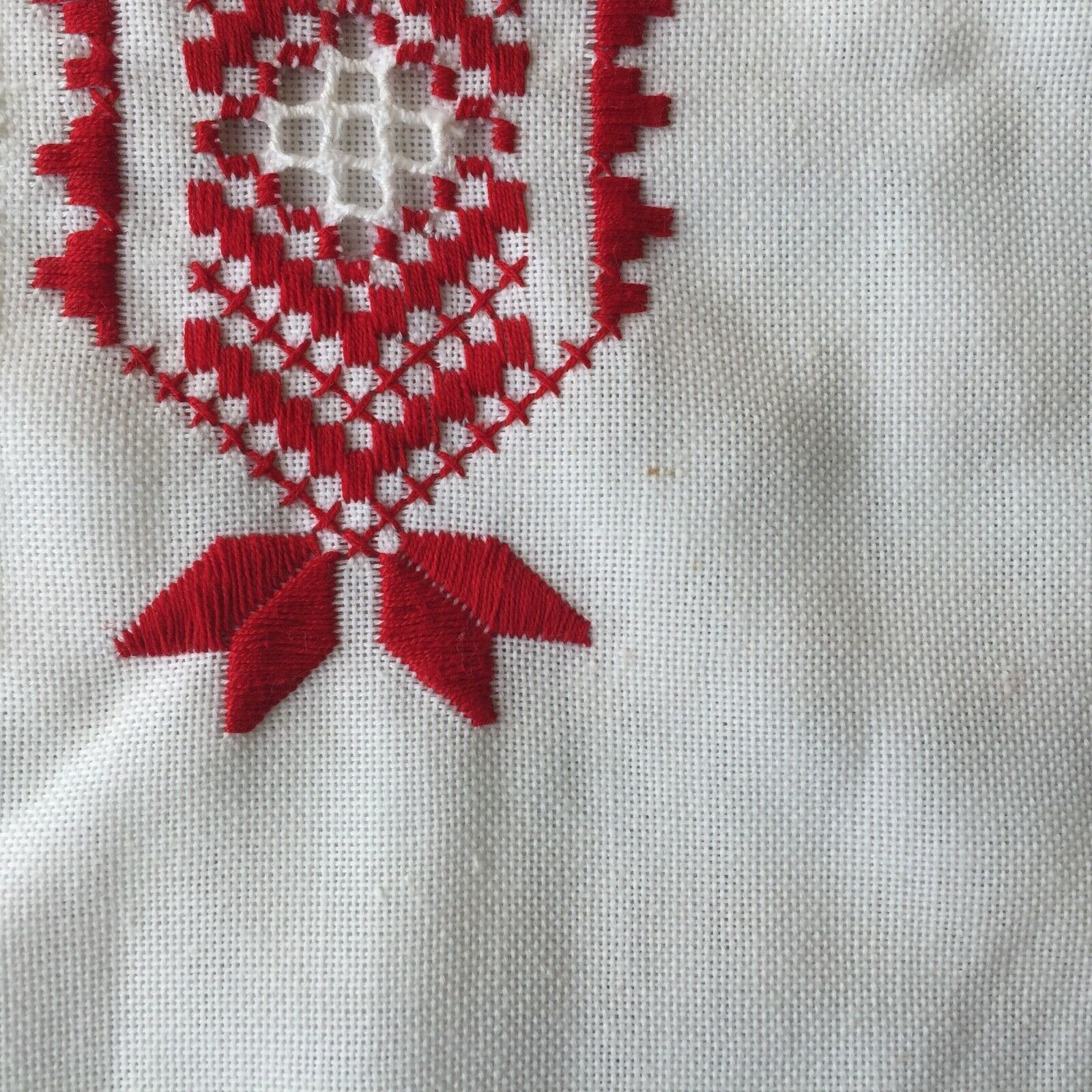 Vintage Hungarian Blouse Embroidered Peasant Top … - image 10