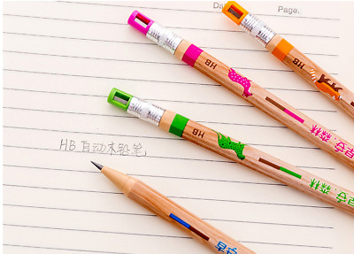 8Pcs 2.0 MM Kids Automatic Mechanical Pen Drafting Drawing Pencil