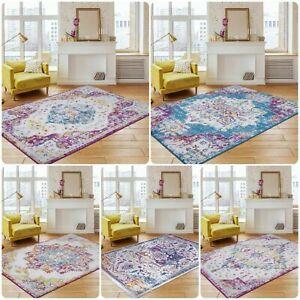 New-Modern-Faded-Rugs-Home-Decor-Living-Room-Bedroom-Carpets-Runner-Floor-Mat
