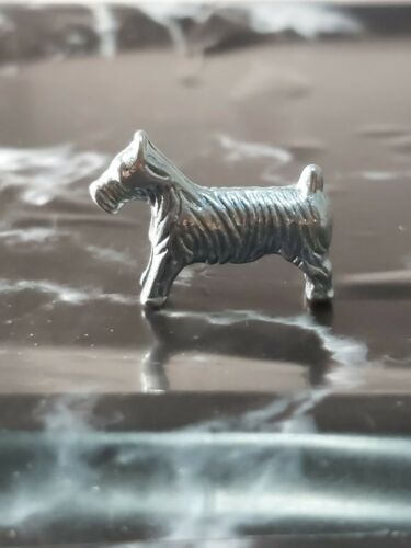 Monopoly Game Replacement Scottie Dog Scottish Dog Game Token Piece Part Mover