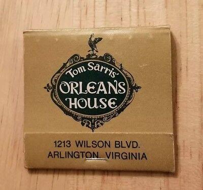 Tom Sarris/' Orleans House Arlington VA Vintage Postcard