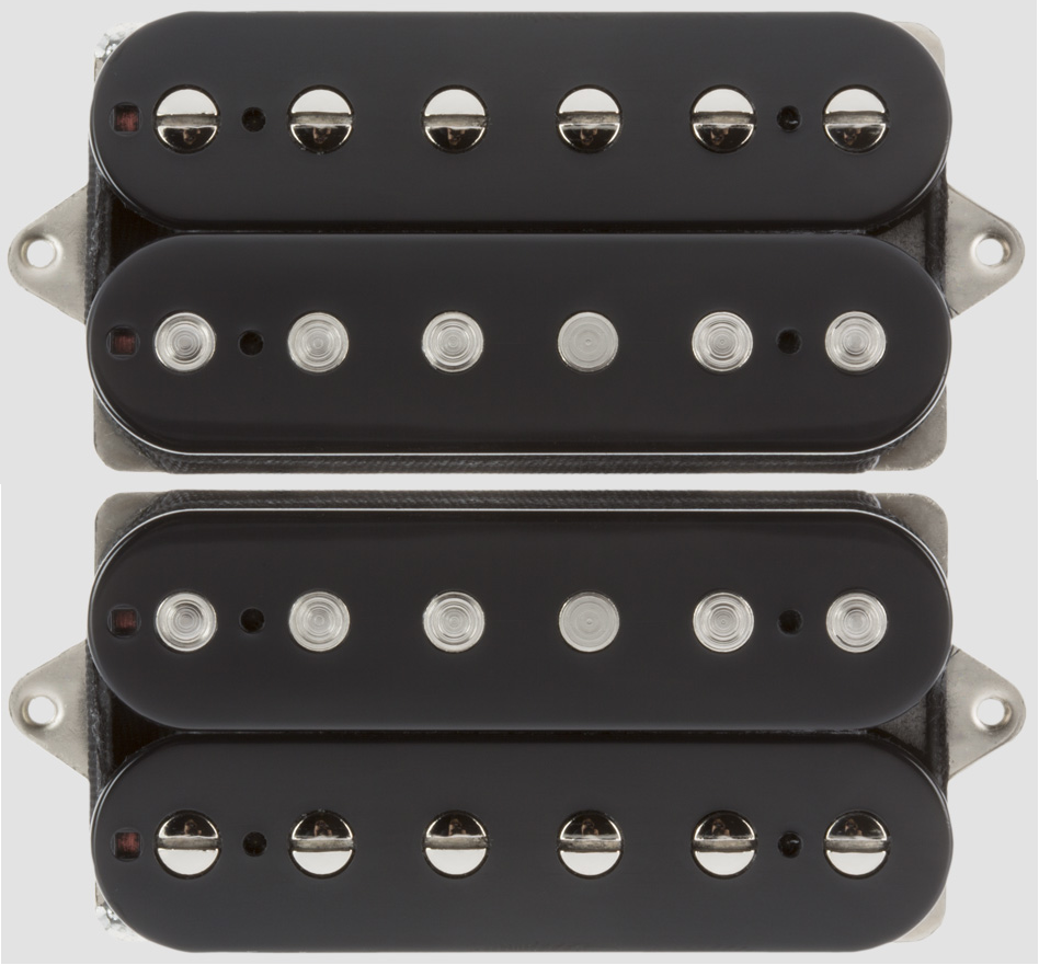 Suhr Doug Doug Doug Aldrich humbucker Negro Set 53mm F Floyd puente de espacio (cable de Fender 18) cc17a7