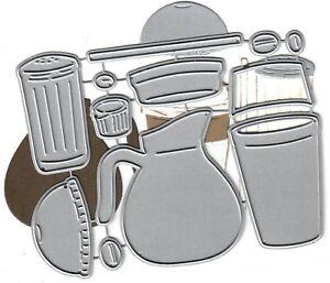 Dies-to-die-for-metal-cutting-craft-die-Coffee-set-sugar-creamer-pot-cut-lid