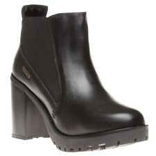 FIRETRAP Womens Queenie Boots Black Size UK 7 Ladies/Shoes/Fashion/High/Heel/NEW