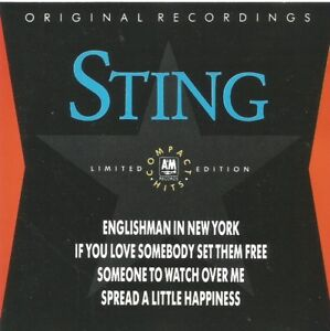 Sting-Compact-Hits-1988-limited-edition-CD-single