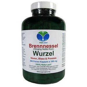 Brennnessel-Wurzel-034-Stinging-Nettle-Root-034-360-Pulver-Kapsel-a-350mg-25752