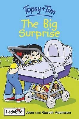 """AS NEW"" Topsy and Tim: The Big Surprise, Adamson, Jean,Adamson, Gareth, Book"
