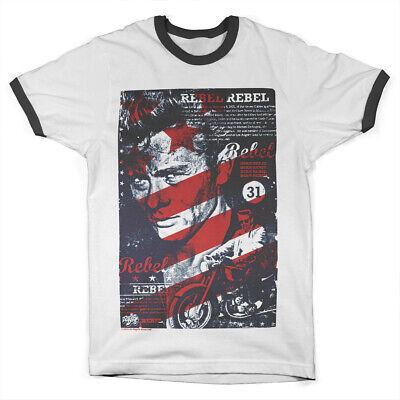Officially Licensed James Dean Rebel Since 1931 Men/'s T-Shirt S-XXL Sizes