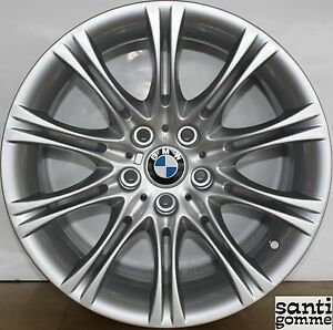 ALLOY-WHEEL-8x18-039-039-BMW-S-5-e60-ORIGINAL-REPAINTED-WELDED-SILVER-8036570