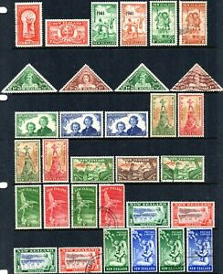New-Zealand-1935-1999-Health-Stamps-Unmounted-Mint-Mounted-Mint-Fine-Used