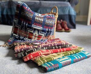 Aztec-Blanket-Shawl-Throw-Cape-Wrap-Bedspread-Nepalese-Yoga-Festival-Unisex