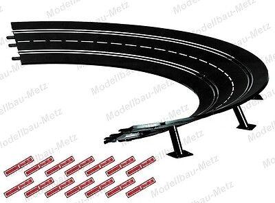 Carrera 20565 Digital//Evo Außenrandstr f Kurve Steilkurve 2//30° Neu//OVP