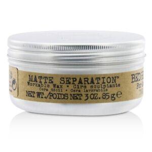 NEW-Tigi-Bed-Head-B-For-Men-Matte-Separation-Workable-Wax-85g-Mens-Hair-Care