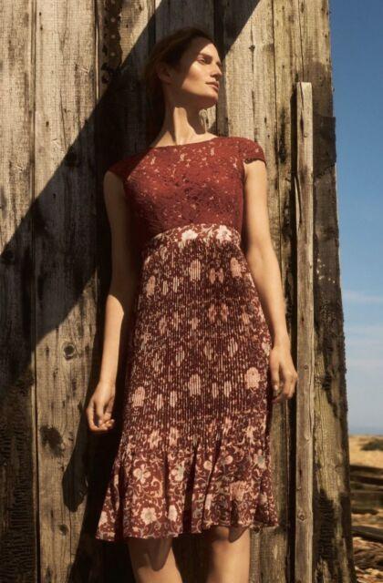 41a74f64e010 NEW Anthropologie Arcadia Midi Dress By Plenty by Tracy Reese $168 Size Sz 6
