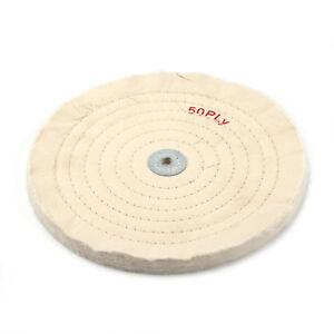 "Buffing Wheel Muslin Polishing Wheel Buff 4/"" x 50PLY For Polishing Jewelry Tool"