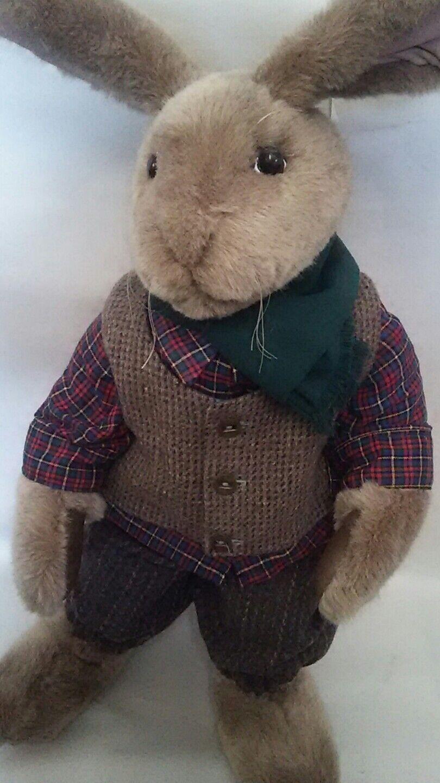 Stuffed animal BEAVER VALLEY Byrdei 35 50 rabbit 1989 Kaylee Nilan