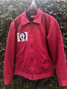 Supeme Jacket Supreme x Akira work jacket burgundy sz M anime | eBay