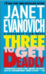 Three To Get Deadly Stephanie Plum Novel by Janet Evanovich 1998 Paperback Book