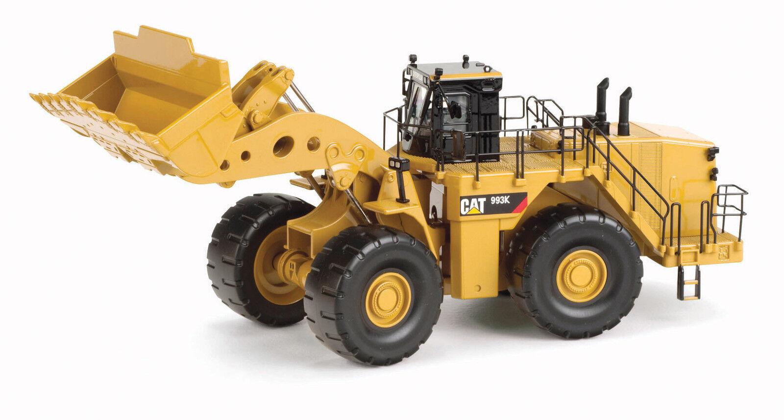 Caterpillar 1 50 scale Cat 993K Wheel Loader Diecast replica Norscot 55257
