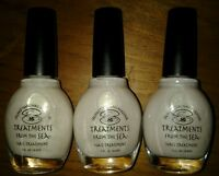 Lot Of 3 Crushed Pearl Nail Hardener Treatments From The Sea