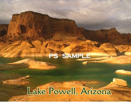 Travel Souvenir FLEXIBLE FRIDGE MAGNET LAKE POWELL #1 Arizona