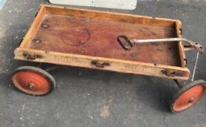 RARE-Vintage-Wooden-DURO-BILT-RACER-COASTER-from-1940-039-s-rare-Find