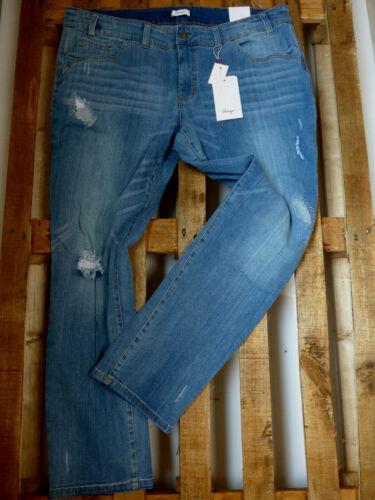 352 Aufrauungen Sheego Jeans Jeanshose Damen große Größen Übergröße