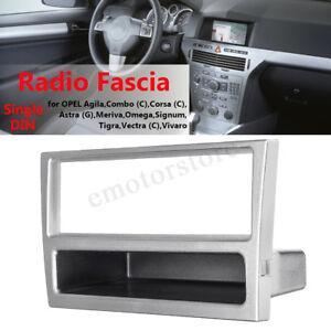 Car-Stereo-Radio-DVD-Fascia-Panel-Frame-1-Din-For-OPEL-Vectra-Corsa-Astra-Tigra