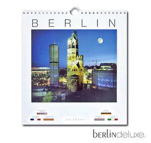 Berlin-Calendrier-2018-NEUF-Emballage-d-039-origine-BERLINOIS-Motifs-eglise